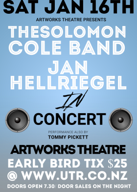 The Solomon Cole Band w/ Jan Hellriegel & Guests