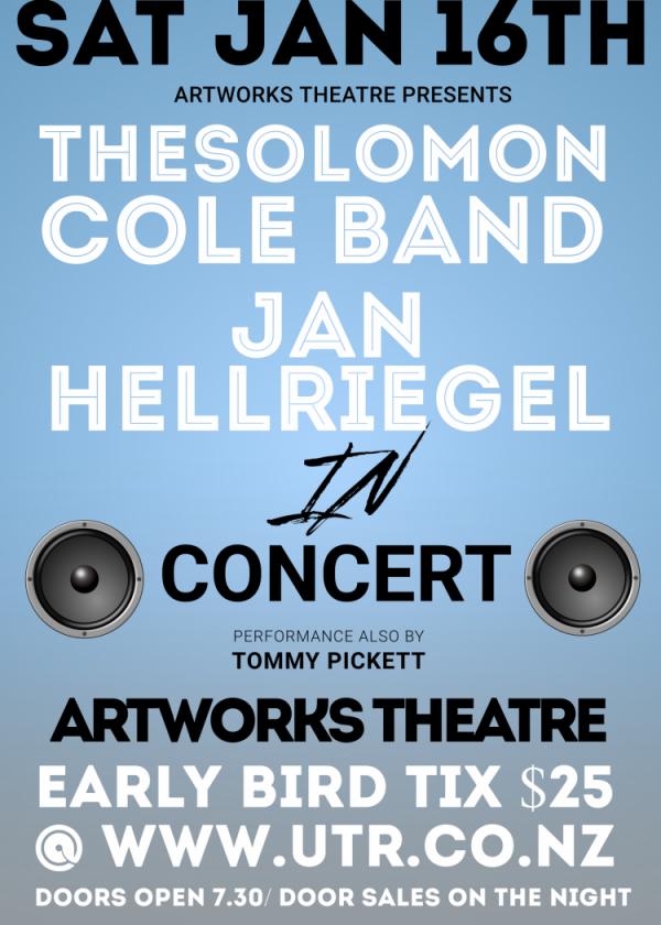 The Solomon Cole Band w/ Jan Hellriegel & Guests