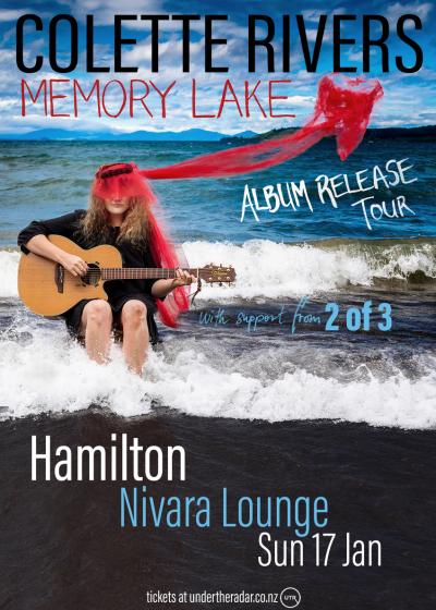 Colette Rivers- Memory Lake - Album Launch Tour