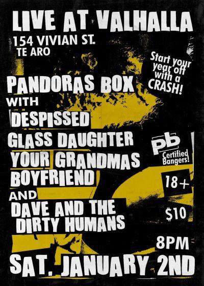 Pandora's Box New Year's Live