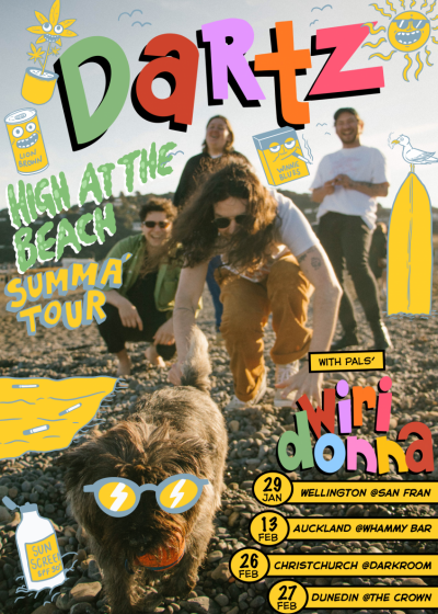 DARTZ - High At The Beach Summer Tour