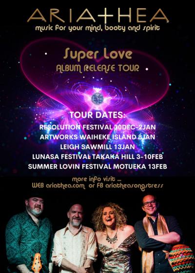 Ariathea Super Love Album Release Tour