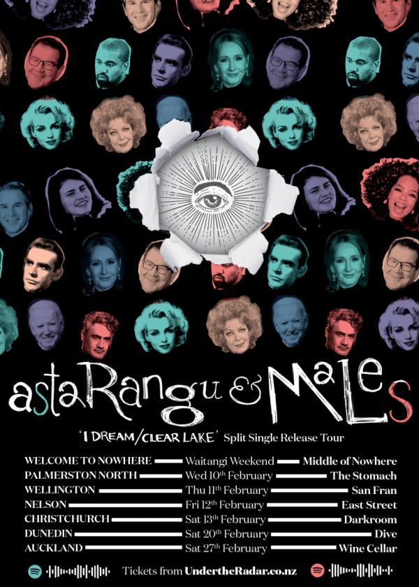 Asta Rangu & Males Split Single Release Tour