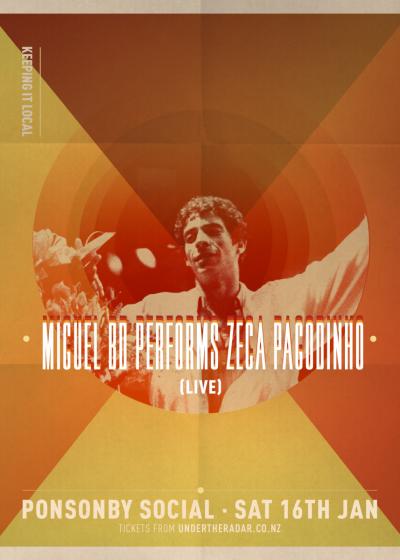 Miguel BD Performs Zeca Pagodinho