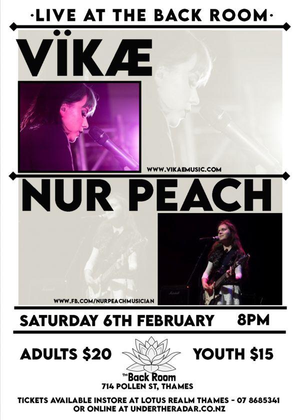 Vikae And Nur Peach