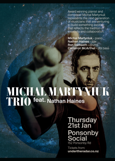 Michal Martyniuk Trio Feat Nathan Haines