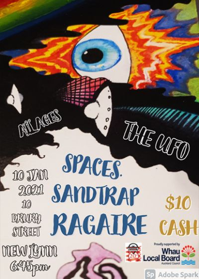 Ragaire - Sandtrap - Spaces