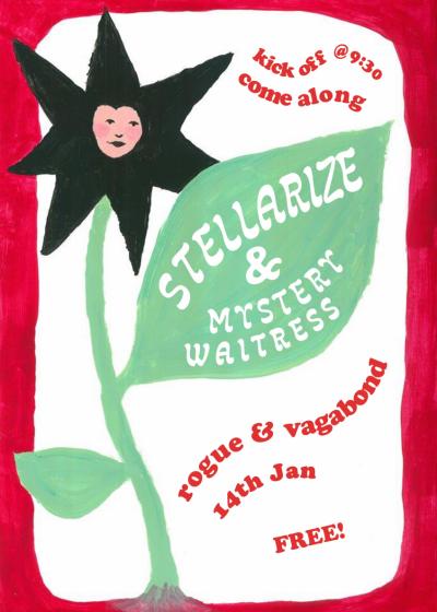 Stellarize And Mystery Waitress