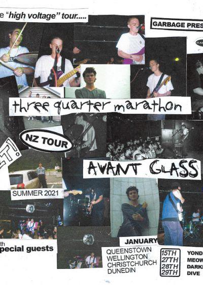 Three Quarter Marathon / Avant Glass
