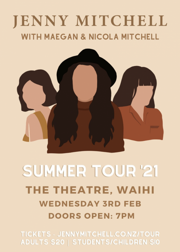 Jenny Mitchell Ft. Sisters Maegan And Nicola Mitchell - Summer Tour '21