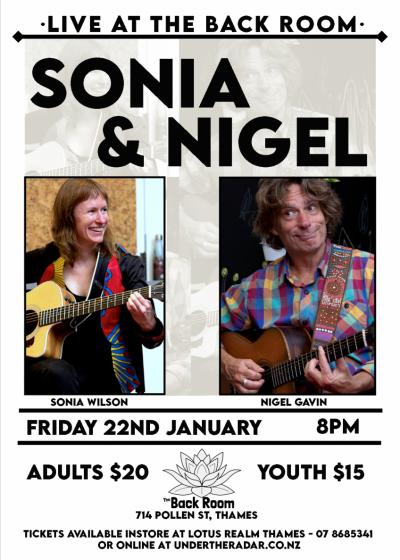 Sonia & Nigel