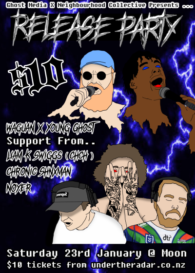 Release Party With Waguan, Young Gho$t, Liam K. Swiggs And More