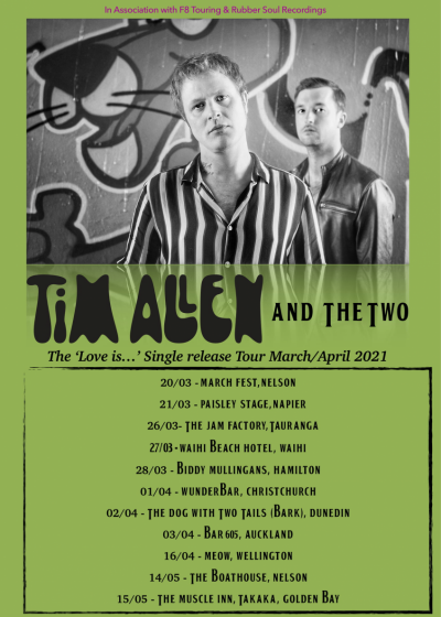 Tim Allen And The Two Single Release Tour