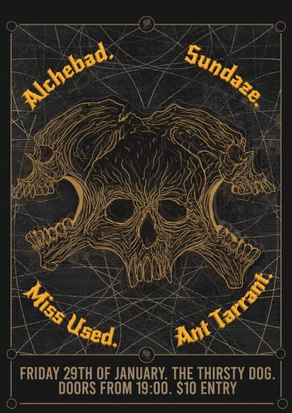 Alchebad -  Miss Used - Sundaze - Ant Tarrant
