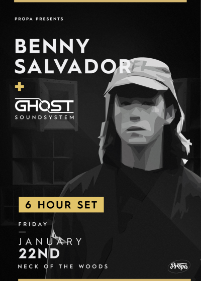 Benny Salvador, 6 Hour Set feat. Ghost Soundsystem
