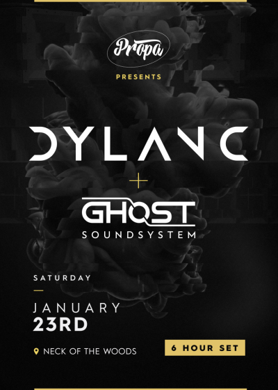 Dylan C, 6 Hour Set Feat. Ghost Soundsystem