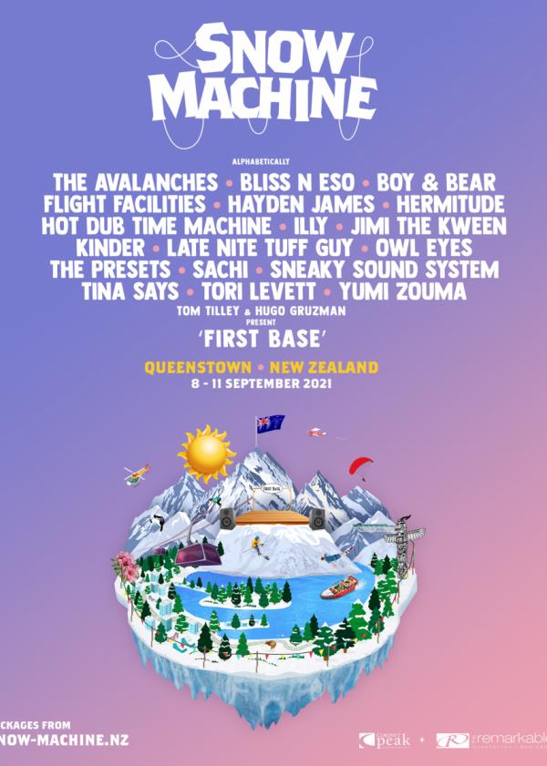 Snow Machine Festival Queenstown