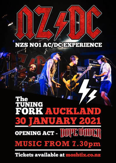 NZ/DC - The AC/DC Experience + Dope Vader
