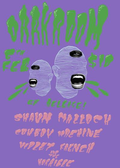 Shaun Malloch Ep Release - Cowboy Machine - Violet French