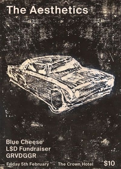 The Aesthetics, LSD Fundraiser, GRVDGGR and Blue Cheese