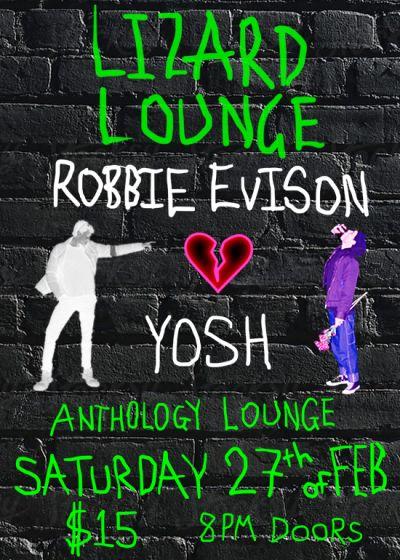 Lizard Lounge - Robbie Evison - Yosh