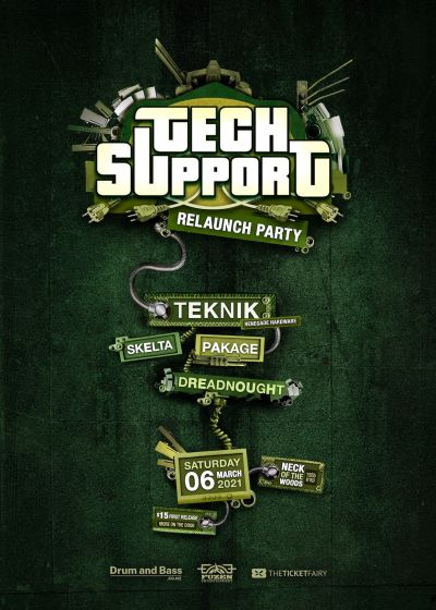 Tech Support - The Relaunch