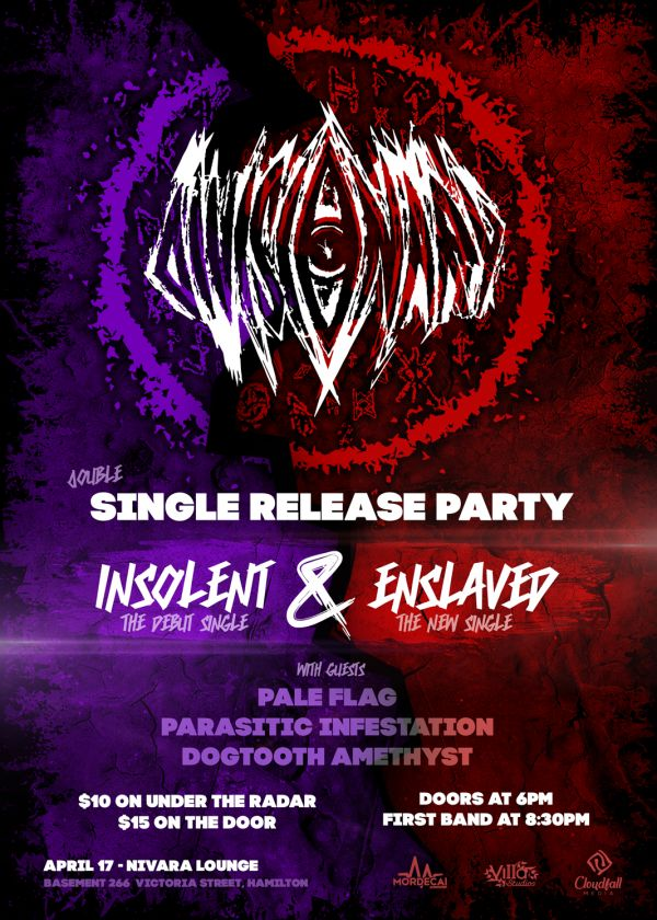 Divisonary - 'Insolent' And 'Enslaved' Single Release Party