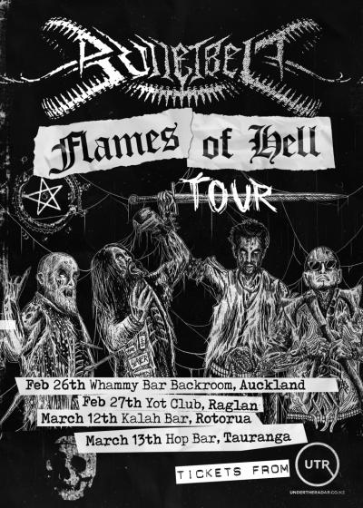 Bulletbelt - Flames Of Hell Tour