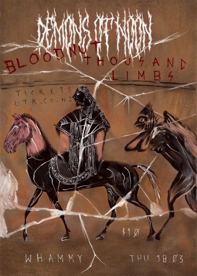 Demons Of Noon, Bloodnut, Thousand Limbs