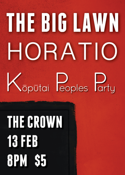 The Big Lawn, Horatio And Koputai People's Party