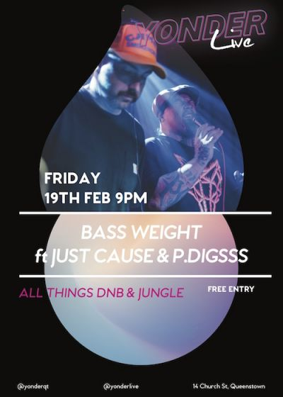 Bass Weight: Just Cause And P. Diggs