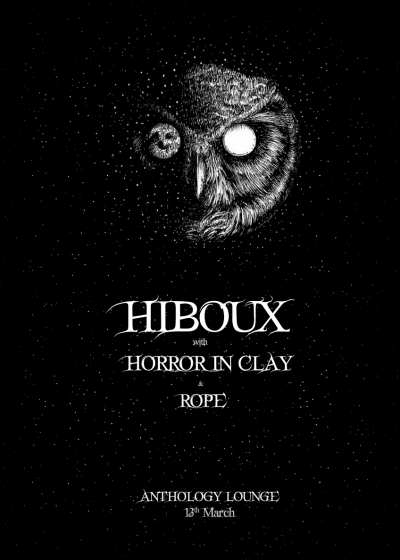 Hiboux + Horror In Clay + Rope