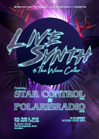 Star Control And Polarisradio Present Live Synth