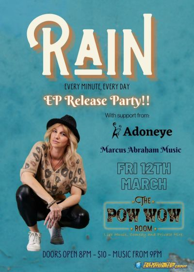Rain Every Minute, Every Day Ep Release Party!