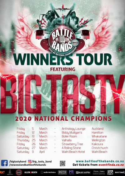 BOTB Winners Tour - Featuring Big Tasty And Guests