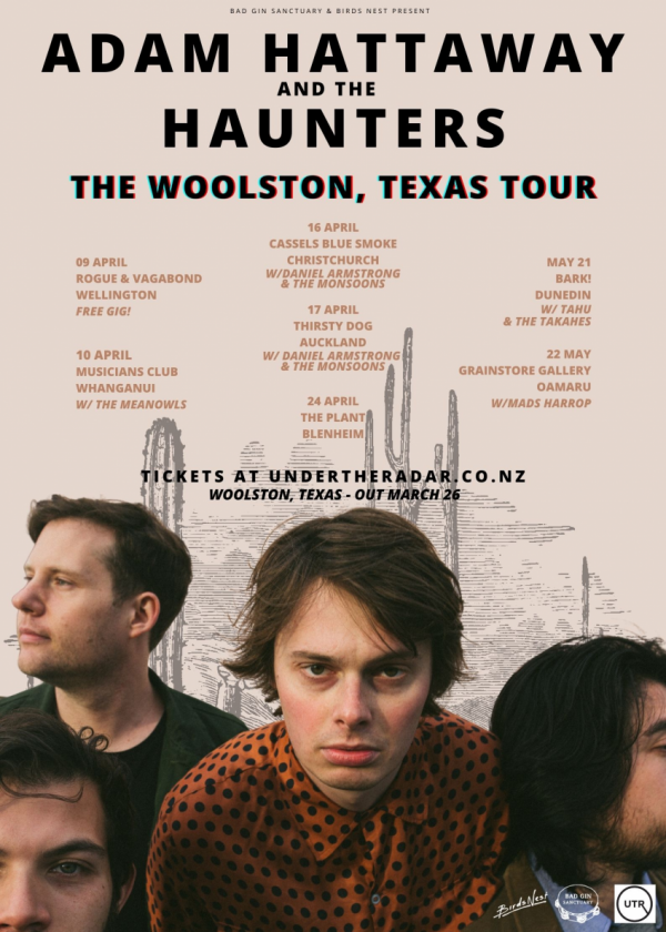 Adam Hattaway And The Haunters - Woolston Texas Tour