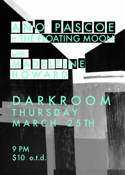 Ano Pascoe + The Floating Moon With Madeleine Howard
