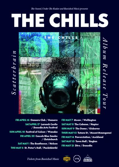 The Chills - Scatterbrain Tour