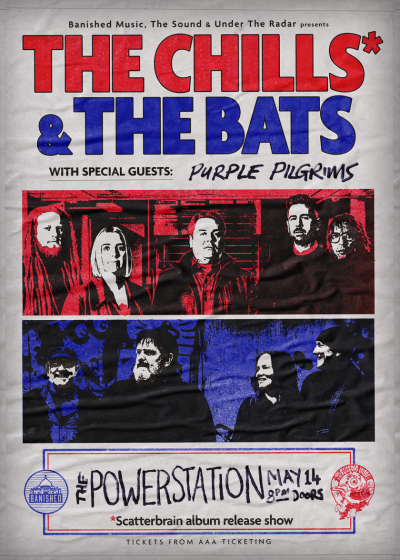 The Chills and The Bats - Scatterbrain Tour