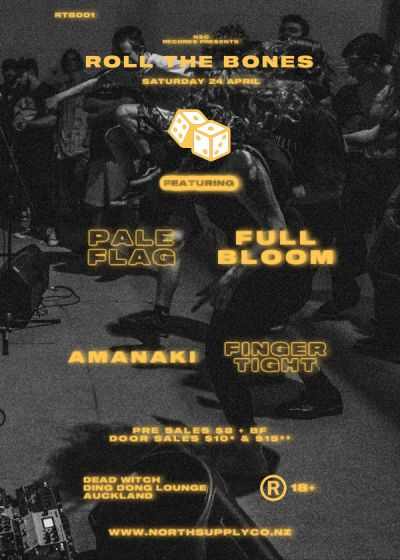 Roll The Bones 001 | Pale Flag, Full Bloom, Amanaki And Finger Tight