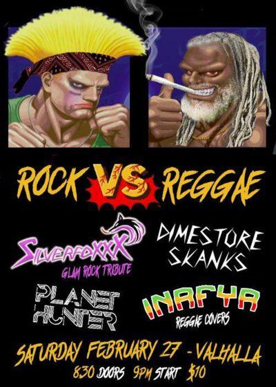 Rock Vs. Reggae
