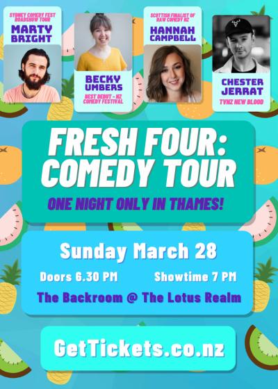 The Fresh Four Comedy Tour