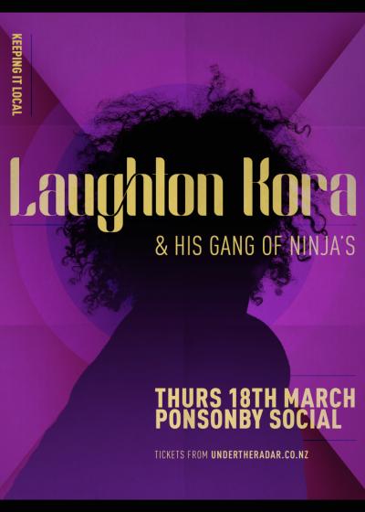 Laughton Kora & His Gang Of Ninjas