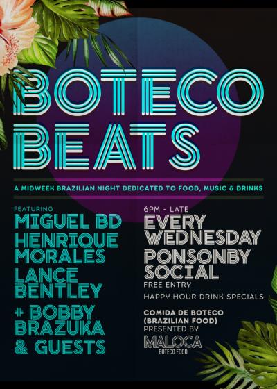 Boteco Beats With Henrique Morales, Miguel Bd And Lance Bentley