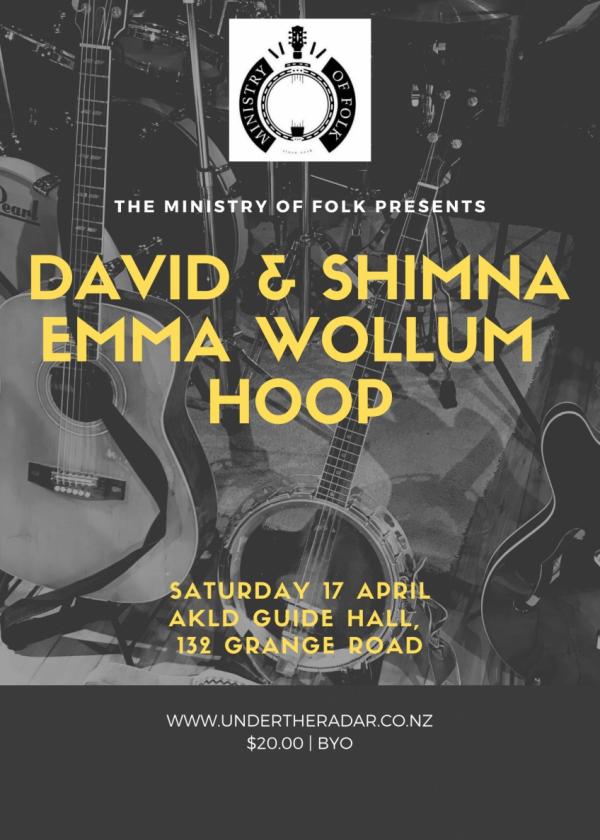 Ministry Of Folk - David And Shimna, Emma Wollum And Hoop