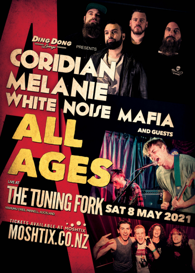 Coridian, Melanie, White Noise Mafia And Guests
