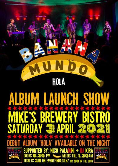 Banana Mundo Album Release Show