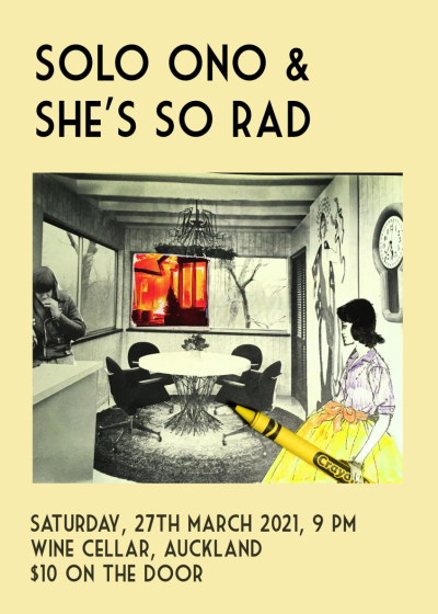 Solo Ono Ep Release Tour With She's So Rad