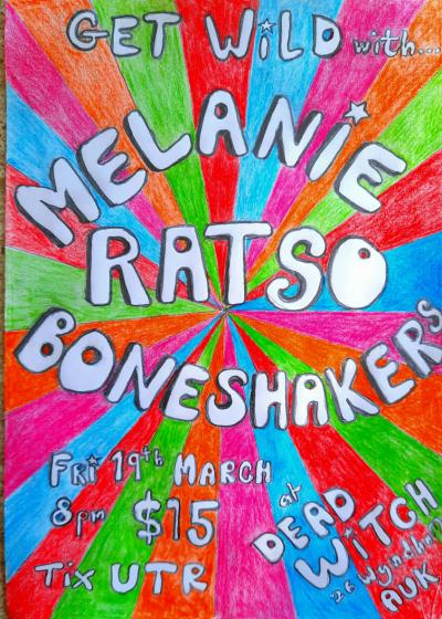 Melanie, Ratso, Boneshakers
