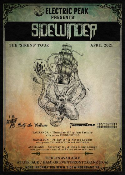Sidewinder - The Sirens Tour 2021